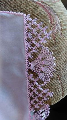 Very Popular White Cheesecloth Needle Lace - Knitting Crochet Borders, Crochet Motif, Crochet Lace, Crochet Stitches, Needle Tatting, Needle Lace, Bobbin Lace, Hand Embroidery Stitches, Ribbon Embroidery