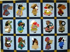 International Sunbonnet Sue - how cute!!