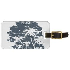 #Mississippi - Long Beach Luggage Tag - #luggage #tags