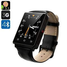 NO.1 D6 3G Smart Watch - Android 5.1