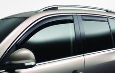 Tuningpros WD2-732 Outside Mount Window Visor Deflector Rain Guard Dark Smoke 4 Pcs Set Compatible With 2013-2015 Nissan Sentra