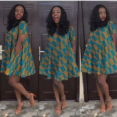 8424b8e870a Lovely Ankara Flare Gown Styles for All Ladies to Slay