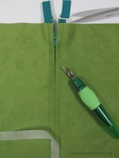 The Absolute Easiest Way to Sew in a Zipper by Nancy Zieman