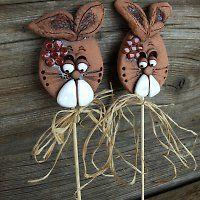Keramika / Zboží | Fler.cz Paper Mache Crafts, Clay Crafts, Hand Built Pottery, Pottery Art, Easter Art, Easter Crafts, Ceramic Clay, Porcelain Ceramics, Salt Dough Crafts