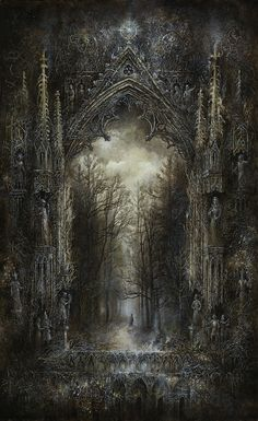 Forest | by Yaroslav Gerzhedovich