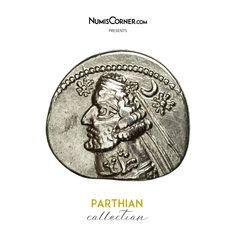 Unfortunately, this collectible item is no longer available ! ➽ Ask us to find it for you : Coin Parthia (Kingdom of) Orodes II Drachm Rhagai Silver. Parthian Empire, Oriental, Coins, Personalized Items, Collection, Silver, Inspiration, Biblical Inspiration, Coining