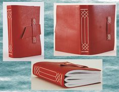 Another leather binding technique