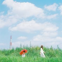 Mom and mu summer Blue Aesthetic, Aesthetic Photo, What A Nice Day, Cool Pictures, Cool Photos, Japanese Photography, Mood And Tone, Barakamon, My Neighbor Totoro