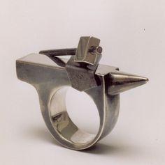 Teunis van de Kamp - anvil, silver, iron, 2003
