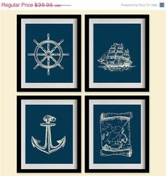 Hey, I found this really awesome Etsy listing at http://www.etsy.com/listing/153981814/on-sale-sketched-nautical-decor-art