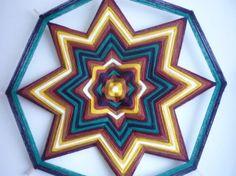 tejido tradicional indios huicholes de méxico ojo de dios lana,madera tejido