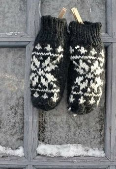 These mittens are an example of protection because we need them to keep our hands warm during the winter.