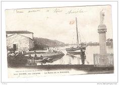 Gabare de Gironde et yole à Branne