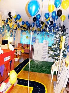 Best Kids Parties: A City of Cars