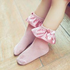 Girl Socks in Pink