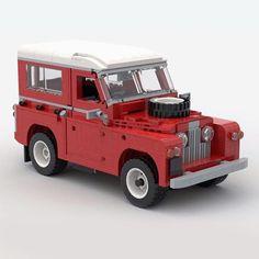 Lego Police Car, Lego Cars, Lego Truck, Lego Auto, Train Lego, Lego Boat, Lego Trains, Land Rovers, Cool Lego