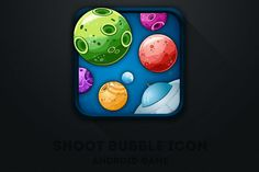 mobile game icon app android design inspiration