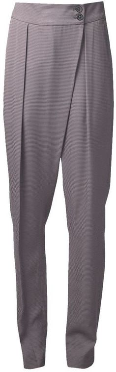 In the App: Pleated Trousers