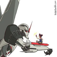 """What are you doing fleshling?"" Starscream asks with bitter haste. ""Scrapbook!"" Miko smiles as she snaps the picture. ""What! That sounds disgusting! What is put in this scrapbook!?"" Starscream yelped as he leapt back. ""Picture you big scardie cat, yeesh, no wonder Megatron wants to snuff you."" ""Watch it, fleshbag."" Starscream narrowed his optics. ""Right."""