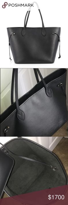 Gently used with light scuff marks on front and on straps. Shopping bag  included, small pouch attached, no dust bag. 0028236dc2