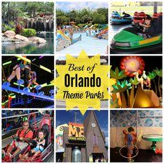 Orlando Theme Parks #orlando #familytravel