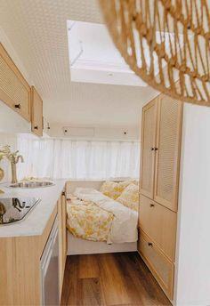 Take a tour through this vintage caravan renovation | Home Beautiful