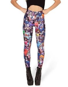 New Design Cosmic Space Printed Leggings Sexy Fitness Women Fashion Gothic Creative Shape Slim Popular Pants KZ-007