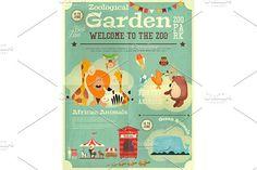 Zoo Park Poster by elfivetrov on @creativemarket