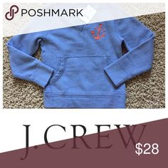 J. Crew Sweat Shirt Brand new J. Crew sweat shirt. Goes great with jeans or dress pants. You can also add a polo shirt underneath it to make it dressy! Smoke free environment! J. Crew Shirts & Tops Sweatshirts & Hoodies