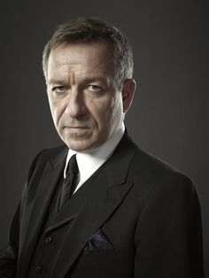Sean Pertwee plays Alfred Pennyworth in Gotham. (you know...Alfred, Batman's butler) And yes. His dad is Jon Pertwee, famous for his role as the Third Doctor. I did the research on a whim. woohoo!