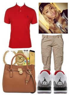 """""""Untitled #17"""" by amor-diamond ❤ liked on Polyvore featuring Polo Ralph Lauren, CREAM, Freestyle, Rolex, H&M, Retrò and Michael Kors"""