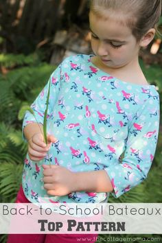 Bateaux Top Pattern Review from The Cottage Mama