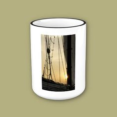 Sunset Cruise Mugs