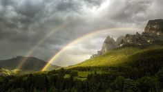 Photograph somewhere in front of the rainbow by Birgit Pittelkow on 500px