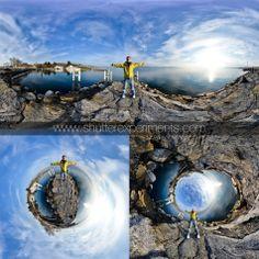 Polar Coordinates, creating a globe