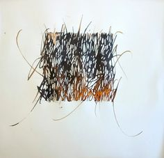 Emmanuel Spaeth - calligraphy