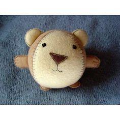Round stuffed animal