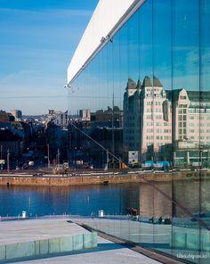 The Opera house in Oslo