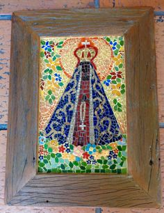 Mosaic Art, Mosaic Glass, Mosaic Tiles, Stained Glass, I Love You Mother, Mosaic Crosses, Holy Mary, Art Thou, Art Classroom