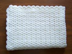 Crochet Double v-stitch afghan