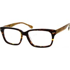 Full-rim acetate horn-rimmed Wayfarers with reinforced wire-core temples for added durability. ...Price - $27.95