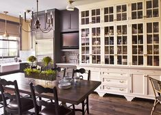 Black + white cabinets Kristen Buckingham