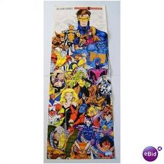 ORIGINAL 1991 X-MEN MARVEL COMICS POSTER:WOLVERINE ROGUE GAMBIT PSYLOCKE:JIM LEE Listing in the Posters,Comics,Books, Comics  & Magazines Category on eBid United States | 26633110