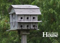 The Old Birdhouse - Photo Gallery of Unique and Old birdhouses