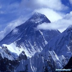 Highest...Mount Everest is the Earth's highest mountain, with a peak at 8,848 metres above sea level. It is located in the Mahalangur section of the Himalayas. The international border between China and Nepal runs across the precise summit point.