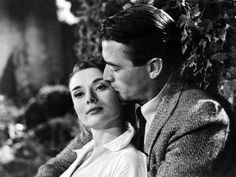 Audrey Hepburn and Gregory Peck in Roman Holiday Movie, 1953