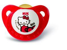 Colecção Hello Kitty, pack de 2 chupetas em látex. $6.60 (euros)