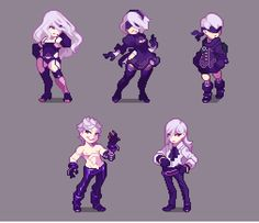 NieR:Automata Characters