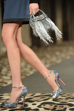 Here is a little shine from the Just Cavalli Fall 2012 Collection. Just Lovely...