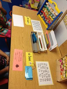 what items to include in a preschool writing center - Google Search